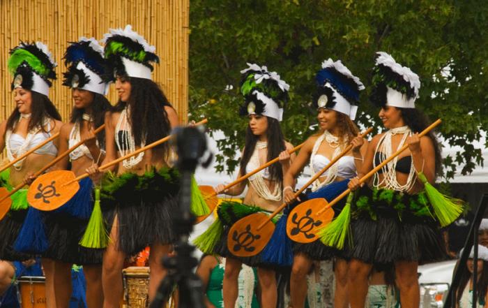 Hawaiian Hula & other South Pacfic Dancers